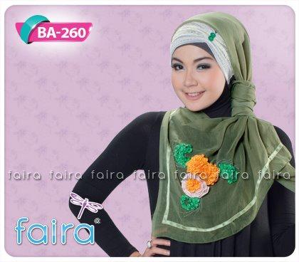 Jilbab & Bandana Faira BA 260