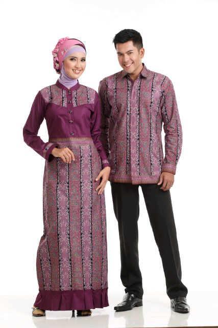 Sarimbit Batik Busana Muslim Baju Muslim Pusat Busana