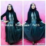 dress pesta muslimah roseblack