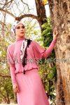 dress Plazo dusty pink