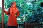 blus warna merah bata NA 04
