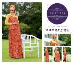 Vallerie Red Harga Rp. 260.000 (gamis + Manset+Pashmina) All Size  AHU 35cm, DADA 90cm, PANJANG Dress 144cm, MANSET lingkar dada 92, panjang tangan 63cm, PANJANG manset 58cm