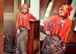 setelan baju wanita warna orange  P.n stl 0609 orange Rp. 285.000 Size : S, M, L, XL