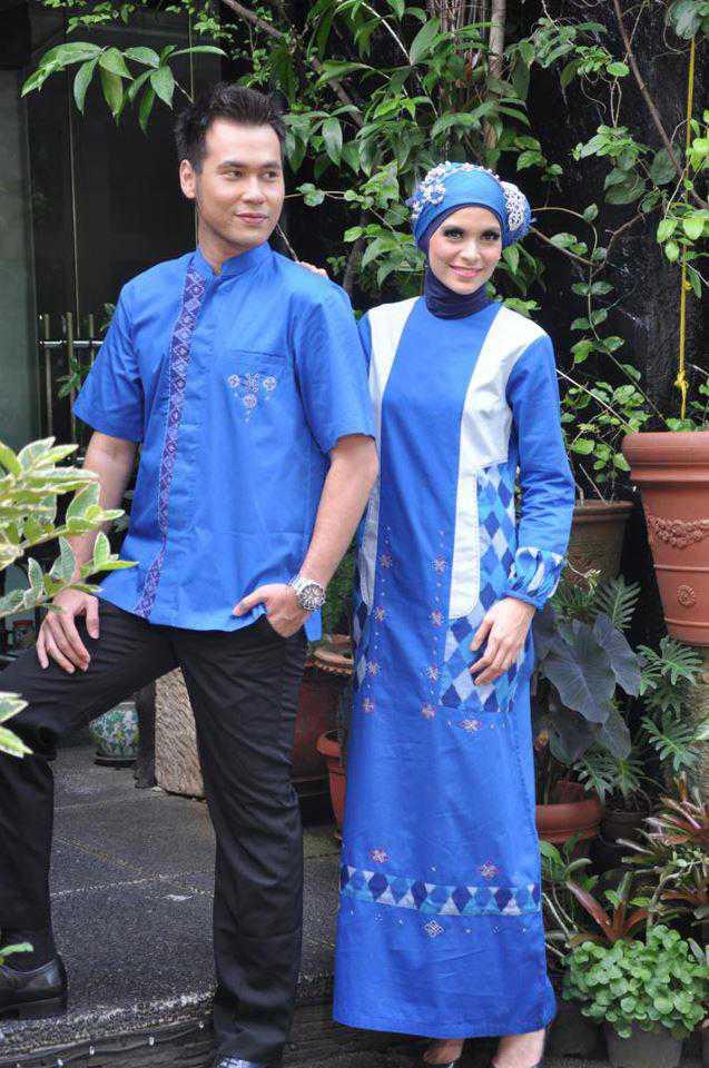 Busana muslim couple busana muslim baju muslim pusat Baju gamis n koko couple