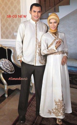 Baju muslim couple busana muslim baju muslim pusat Baju gamis n koko couple