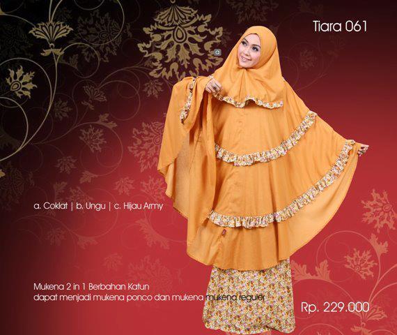 mukena tiara 061 Rp 229000