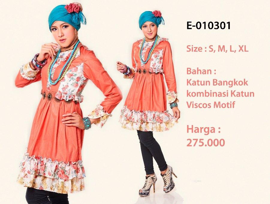 Gaun Pesta Toko Baju Muslim Gamis Dress Busana