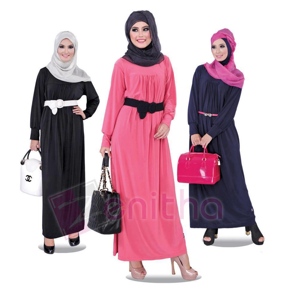 Baju Gamis Muslimah Busana Muslim Baju Muslim Pusat
