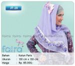 Jilbab Faira Harga Rp.85.000Bahan Katun Paris