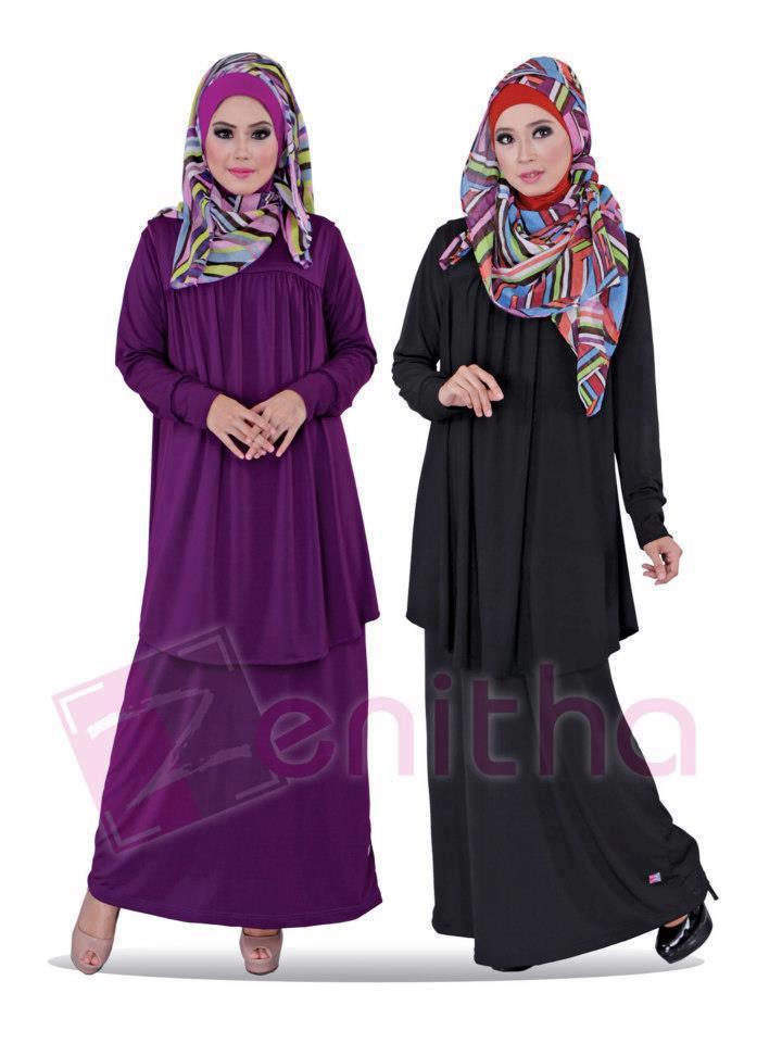 Gamis Rompi Zn 108 Busana Muslim Baju Muslim Pusat