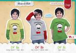kaos anak, baju anak alhamdulillah