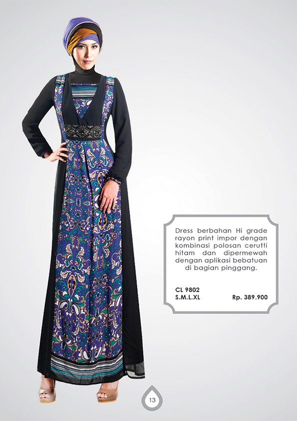 model dress batik muslim | Busana muslim, baju muslim, Pusat busana ...
