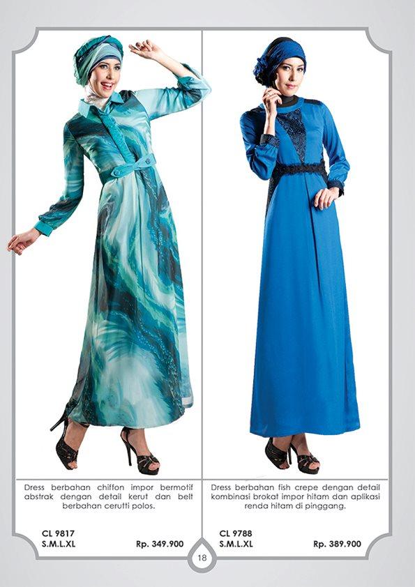 Butik online baju online trend busana muslim 2012 busana Baju gamis pesta online