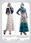 dress bergaya semi jaket bermoyif floral CL 9811,CL 9784