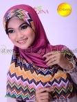 Jilbab Belah Samping Atiqa Vanara
