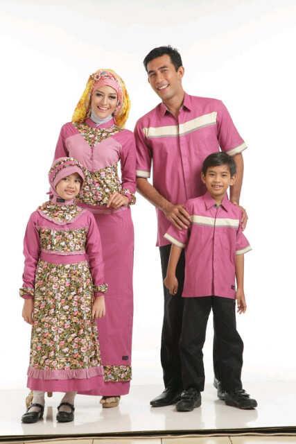 Sarimbit Keluarga 064 Pink