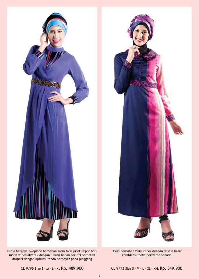 Pin Frecily Pink Baju Muslim Gamis Modern On Pinterest