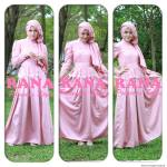 CASSANDRA DRESS DUSTY PINK
