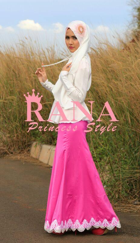 Dantella Princess Busana Muslim Baju Muslim Pusat
