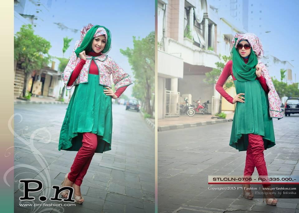 Pn Stl Cln 0706 Red Busana Muslim Baju Muslim Pusat