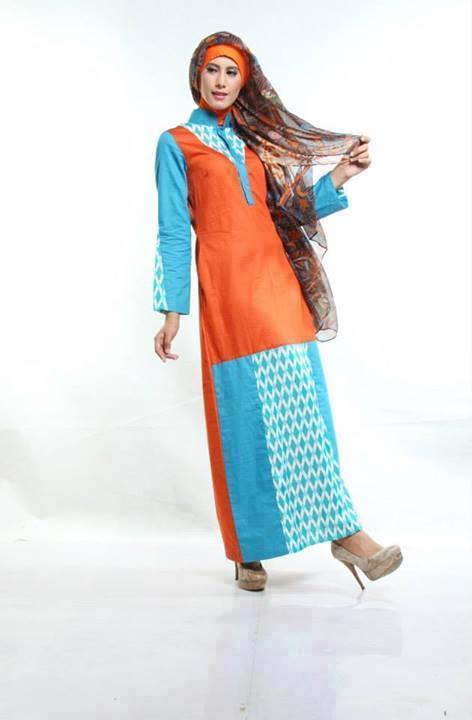 Koleksi Sarimbit Nurrin Emerald Busana Muslim Baju