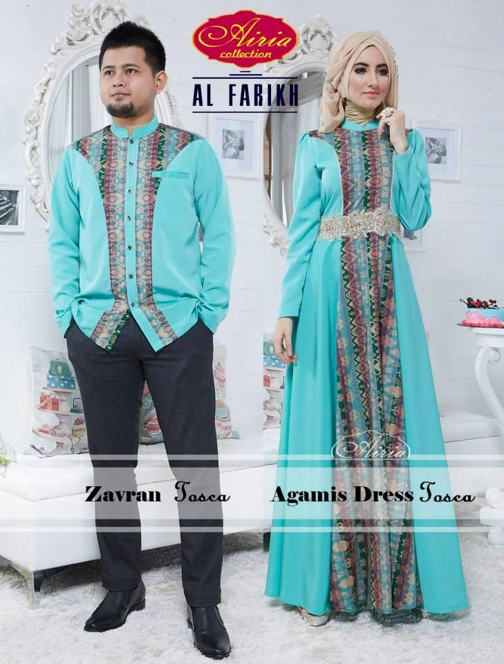 Sarimbit Agamis Dress Dan Koko Zafran Busana Muslim