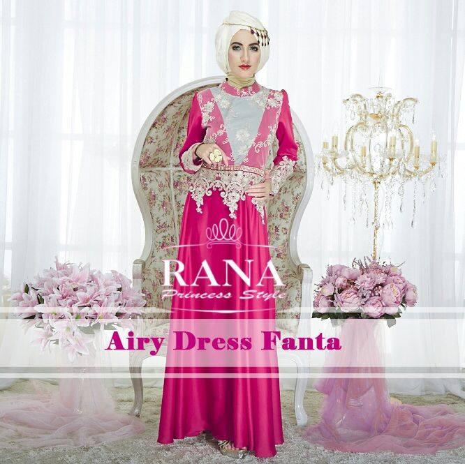 Airy Dress Keren Dan Eksklusive Busana Muslim Baju